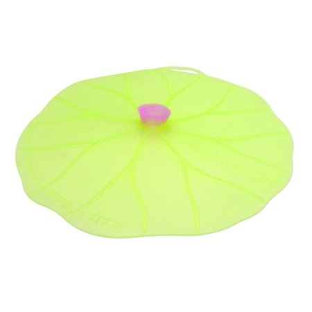 "Lilypad Lid - Medium 9"", Seals tight on all smooth rims, fits a bowl that is 9 inches 7/8 in diameter By Charles Viancin"
