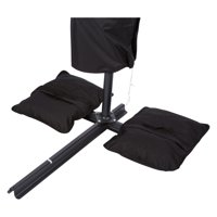 Saddlebag Style Sand Weight Bag for Anchoring Patio Umbrellas by Trademark Innovations (Single Unit)