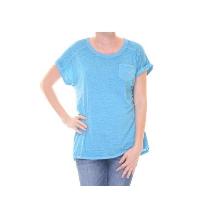 Style & Co Women's Teal Gem Short Sleeve Tee Size S (Jewel Styles)