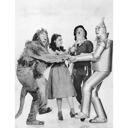 Canvas Print Cowardly Lion Bert Lahr The Wizard Of Oz Stretched Canvas 10 x 14