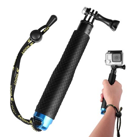 Waterproof Telescopic Pole, Underwater Adjustable Hand Grip Selfie Stick Monopod 19