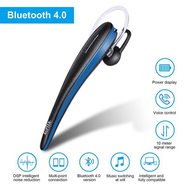 Wireless Bluetooth Headset Stereo Headphone Earphone Sport Hand Free Universal For Iphone Samsung Walmart Com Walmart Com