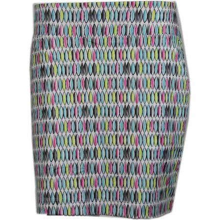 Print Skort (Page & Tuttle Womens Abstract Oval Print Skort Golf Athletic Pants & Shorts Skort -)