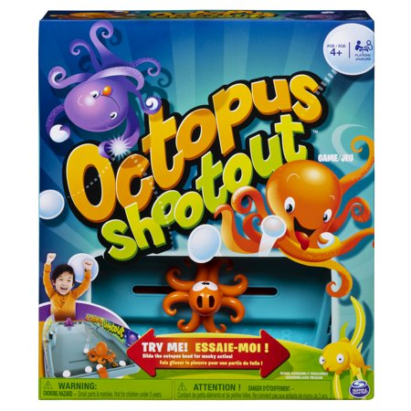 Octopus Shootout, Fun and Wacky Tabletop Hockey Game, for Kids Aged 4 and (Fun Games To Play Inside The House)