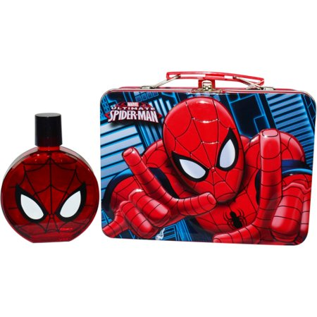 Lonchera Spiderman Set Edt Spray 3.4 Oz caja de almuerzo (definitiva) de Marvel + Marvel en Veo y Compro