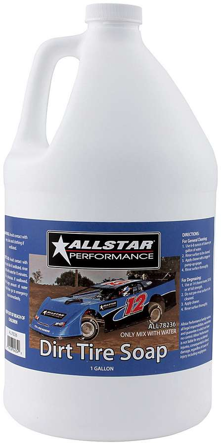Allstar Performance Dirt Tire Soap Tire Cleaner 1 Gallon P N 78236 by ALLSTAR PERFORMANCE