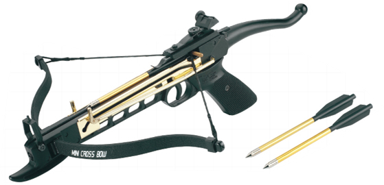 Click here to buy Man Kung Hunting 80lbs Self Cocking Cobra Crossbow Free Pack of Arrows by Man Kung.