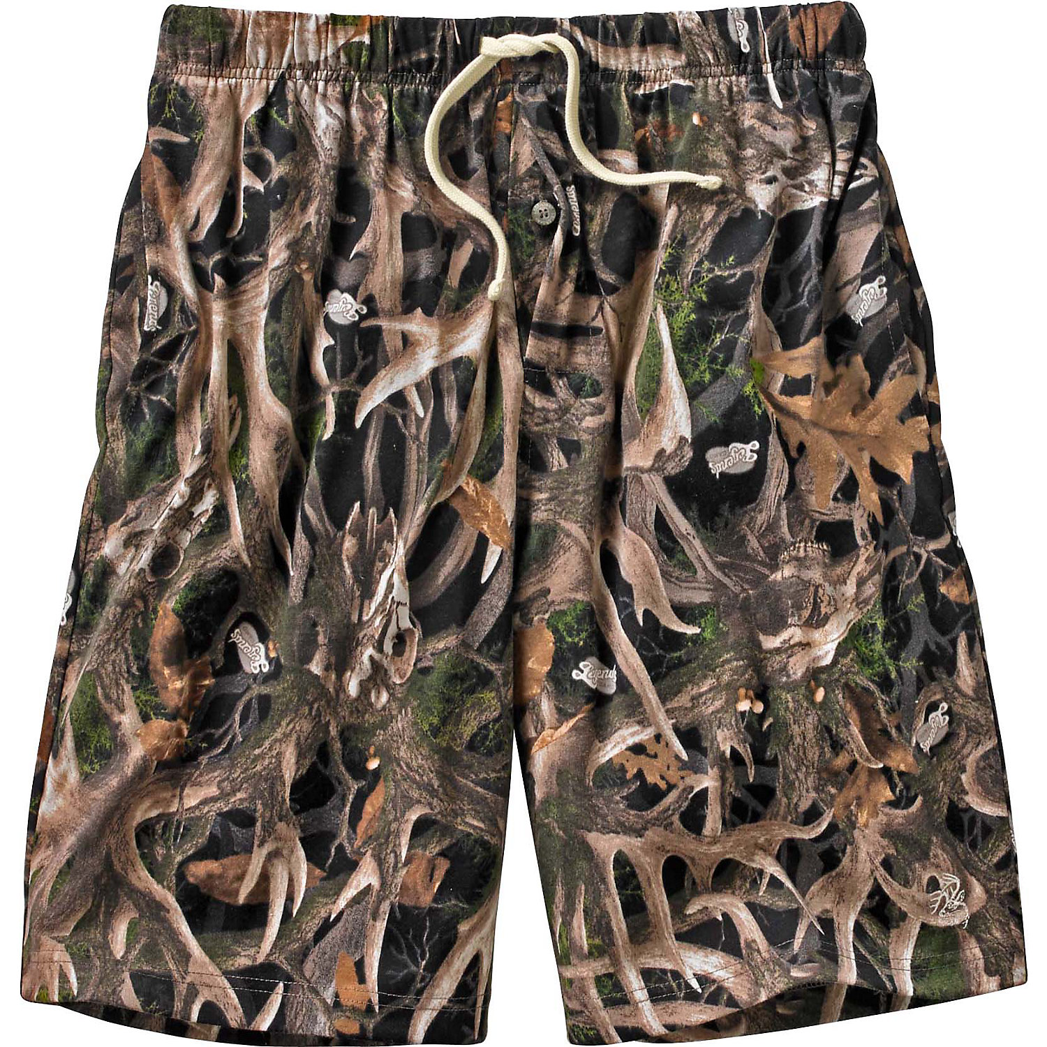 Legendary Whitetails Men's Timber Antler Lounge Shorts