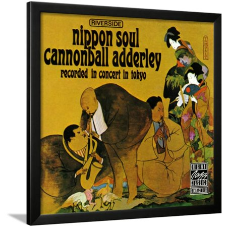 Cannonball Adderley, Nippon Soul Framed Print Wall Art - Nippon Art Collection