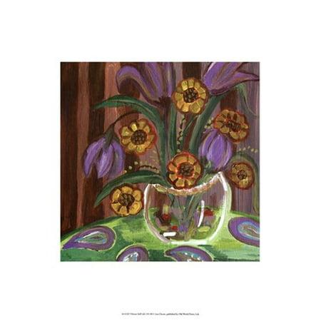 Posterazzi OWP41313D Vibrant Still Life I Affiche par Lisa Choate -13,00 x 19.00 - image 1 de 1