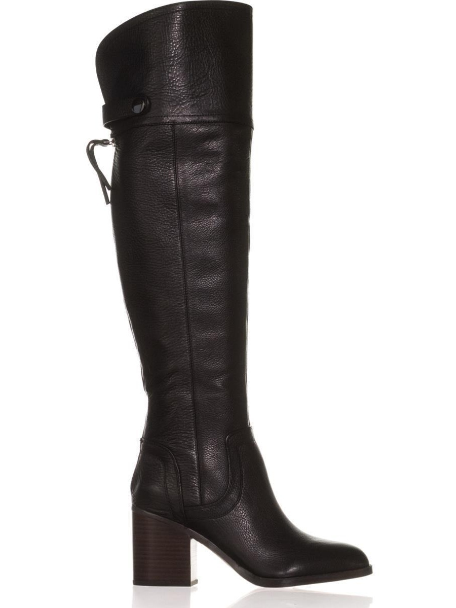 Womens Franco Sarto Ollie Boots, Over the Knee Boots, Ollie Black c1704a