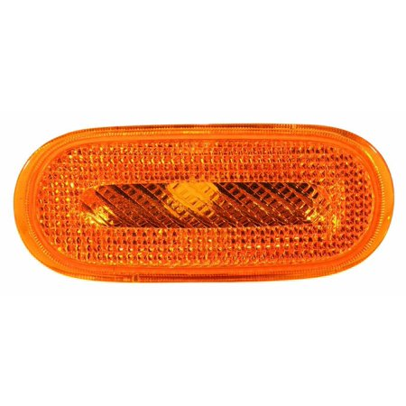 341-1414R-US-Y Volkswagen New Beetle Passenger Side Yellow Side Marker Lamp Lens and Housing, Exact replacement for factory assembly By Depo from USA