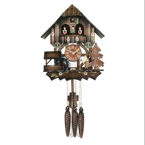 "12"" Musical Man Chopping Wood Cuckoo Clock"
