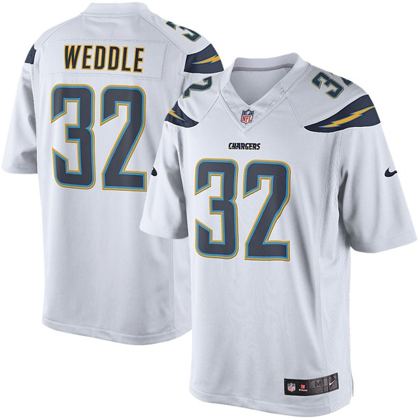 Eric Weddle San Diego Chargers Nike Limited Jersey - White