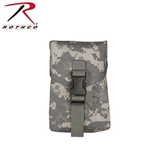 Click here to buy Molle Ii 100 Round Saw Pouch Acu by Rothco.