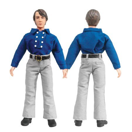 Factory Team Blue Titanium Turnbuckles (The Monkees 8 Inch Action Figures Series One Blue Band Outfit: Mike Nesmith [Loose in Factory Bag] )