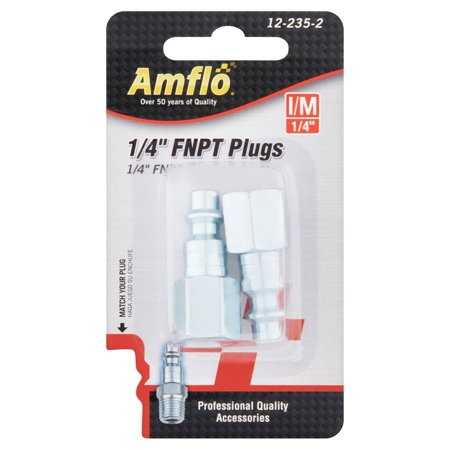 Amflo 1/4'' FNPT Plugs 12-235-2