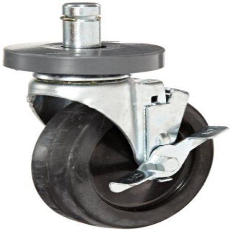 Metro 5MB Super Erecta 5 Diameter Wheel Brake Stem Caster, 200 lbs