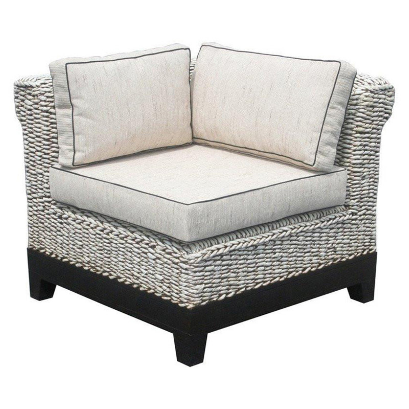 Chic Teak West Palm Sectional Corner Sectional Piece