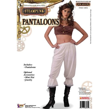 Steampunk Female Pantaloons Forum Novelties 68931