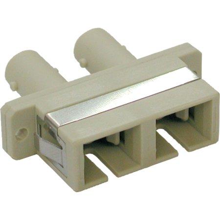 - Tripp Lite Duplex Fiber Optic MMF Multimode Network Coupler SC/ST N456000