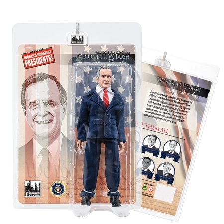 US Presidents 8 Inch Action Figures Series: George H.W. Bush SR. [Blue