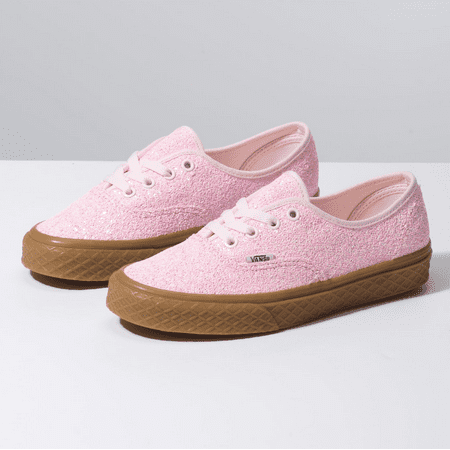 Vans Authentic Ice Cream Glitter Pink Women's Classic Skate Shoes Size 7