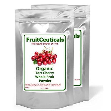 Organic Tart Cherry Powder (Not an Extract) - 2 4oz