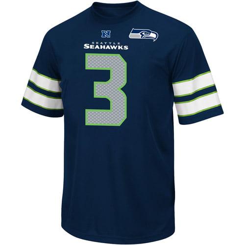 NFL Big Men's Seattle Seahawks R Wilson Jersey, Size 2XL