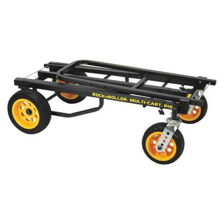 """Convertible Hand Trucks,60"""" Overall H by Rock N Roller"""