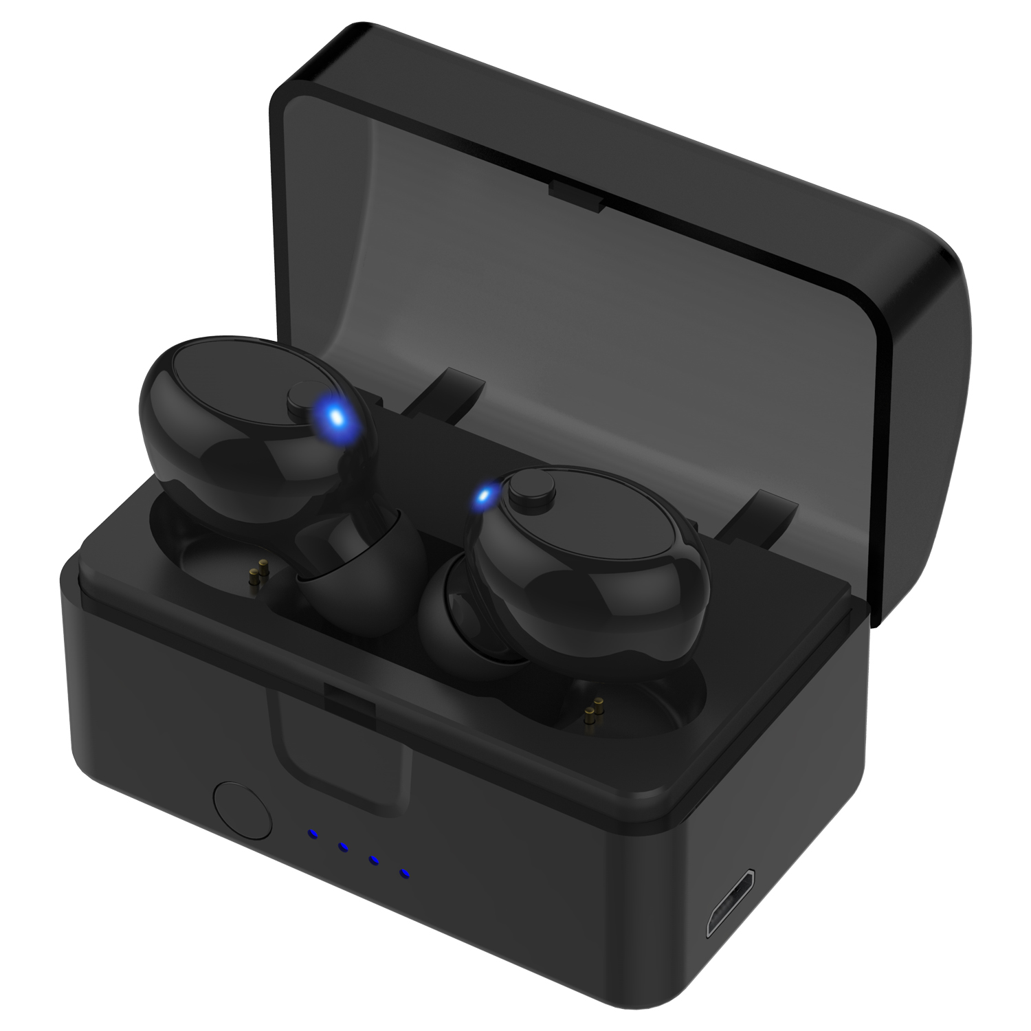 Mini Wireless Earbuds Bluetooth Earpiece Headphone -   Noise Cancelling Sweatproof Headset with Microphone Built-in Mic and Portable Charging Case for iPhone Samsung Smartphones