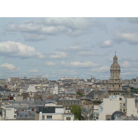 Peel-n-Stick Poster of Paris France Cityscape Poster 24x16 Adhesive Sticker Poster Print