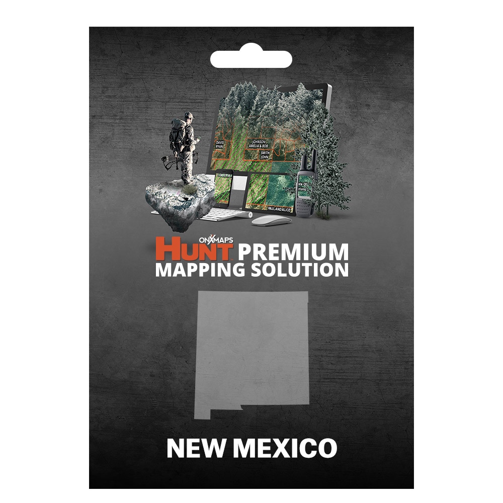 onXmaps HUNT New Mexico - GPS Map with Hunting/Land Owner...