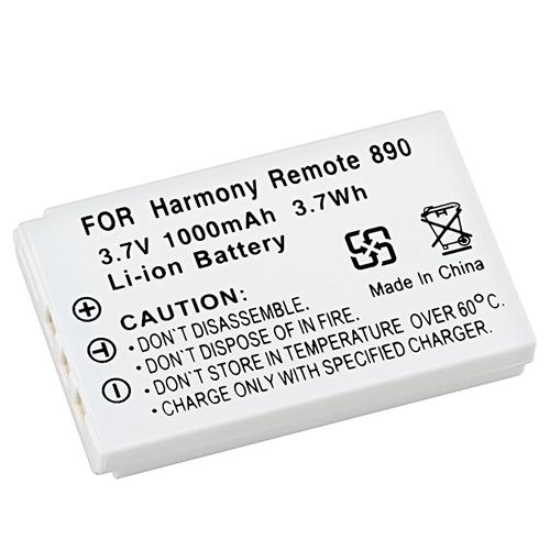 Insten Rechargeable Battery 3.7 v 1000mAh Li-ion For Logitech Harmony 880 885 890 900