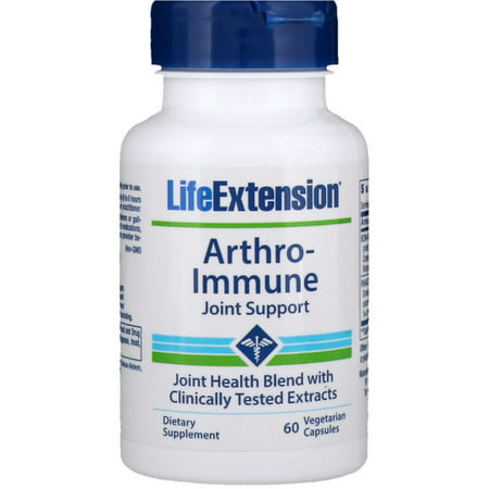 Image of Life Extension Arthro-Immune Joint Support Vegetarian Capsules, 60 Ct