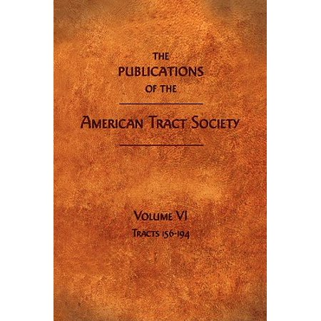 The Publications of the American Tract Society : Volume VI](Halloween Evangelism Tracts)