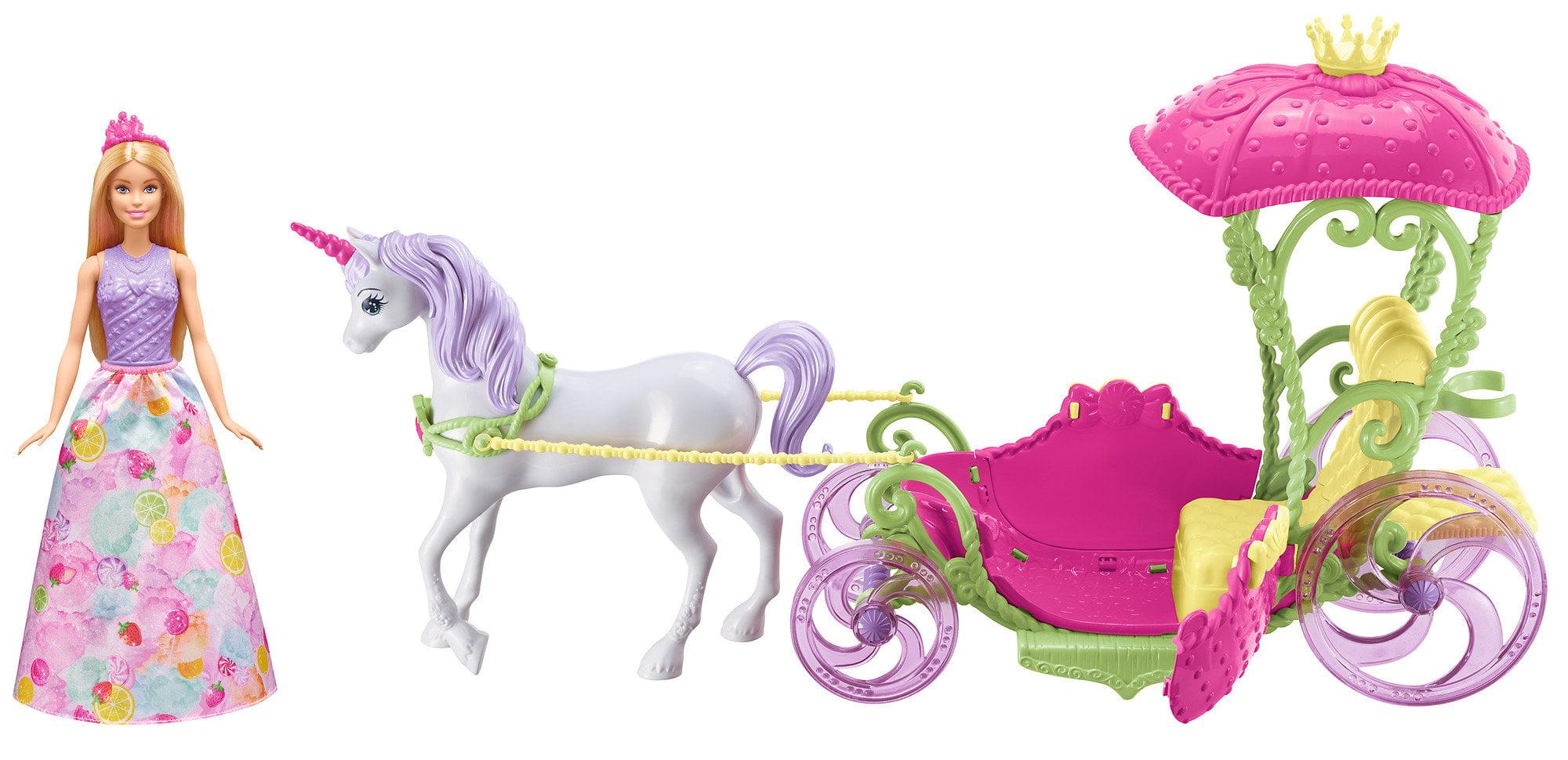 Barbie Dreamtopia Sweetville Carriage by Mattel