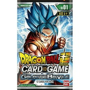 Dragon Ball Z Galactic Battle Booster Pack Trading Card Game Image 1 Of