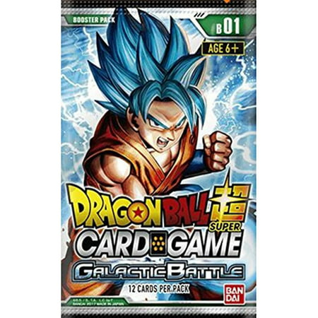 Dragon Ball Z Galactic Battle Booster Pack Trading Card (Dragon Ball Z Game Create Your Own Character)
