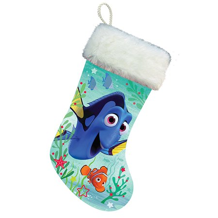 Disney Finding Dory Nemo Light Up 18 Inch Christmas Stocking Decoration Fish