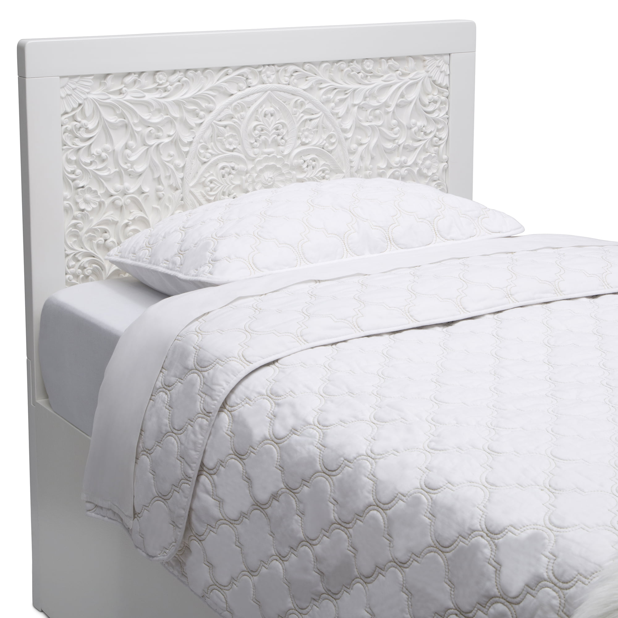 Better Homes & Gardens Marissa Twin Headboard - Bianca White - Walmart.com