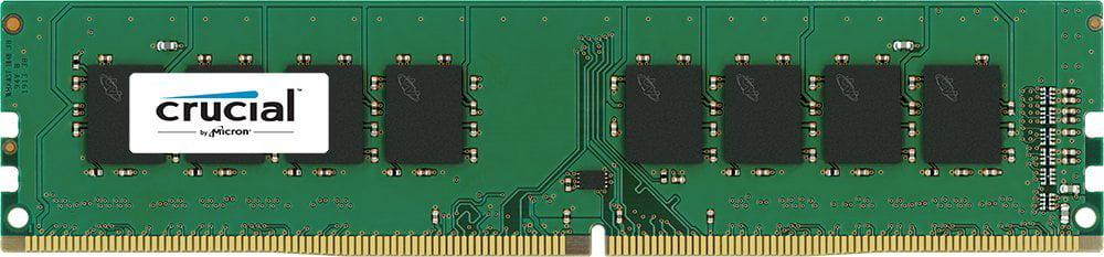 Crucial 8gb Ddr4 Sdram Memory Module - 8 Gb - Ddr4 Sdram - 2400 Mhz Ddr4-2400/pc4-19200 - 1.20 V - Non-ecc - Unbuffered - 288-pin - Dimm (ct8g4dfd824a)