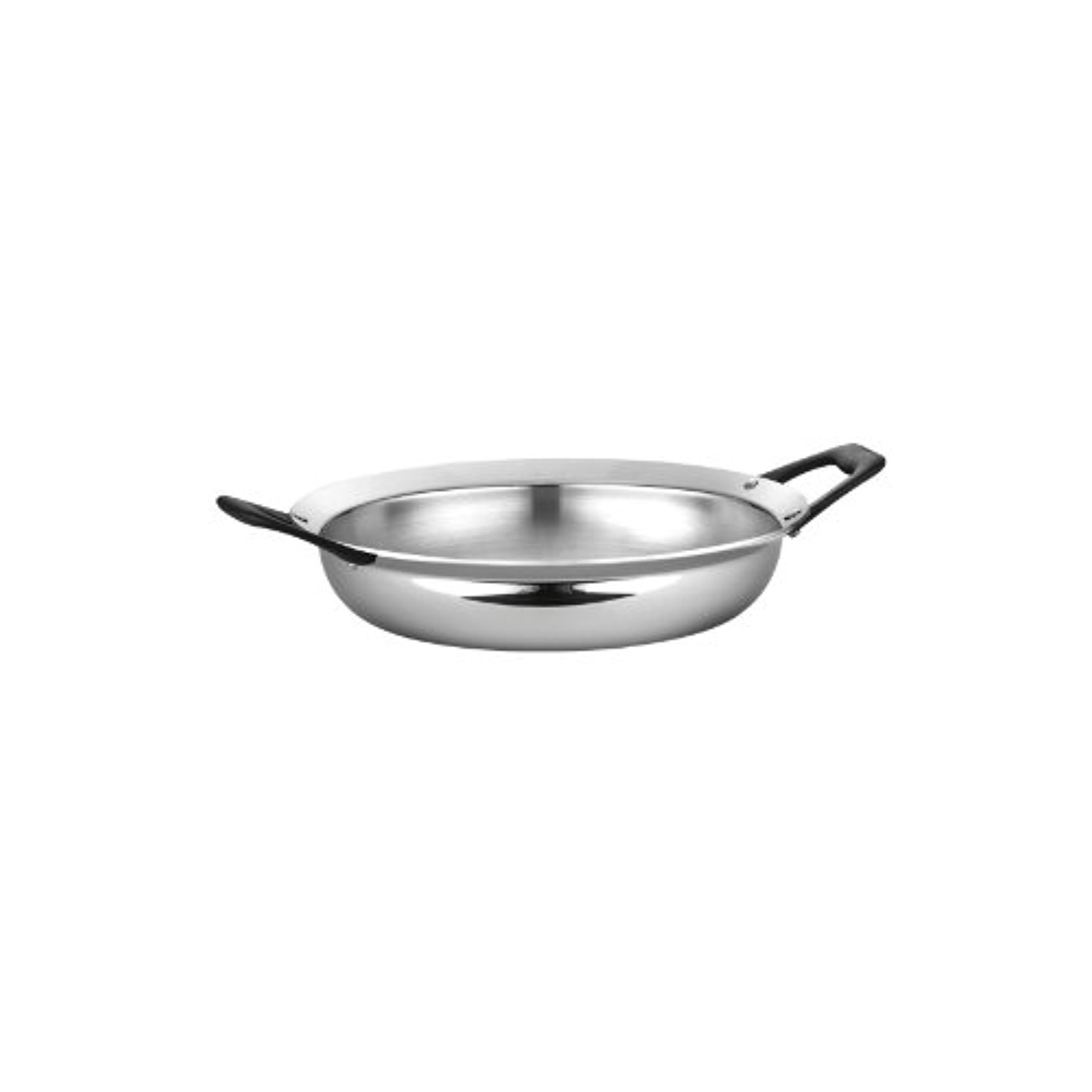 Tramontina Limited Editions Barazzoni 3 Quart Stainless Steel Open Tri-Ply Clad Everyday Pan