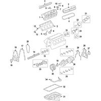 Genuine OE GM Thrust Bearing 12656815