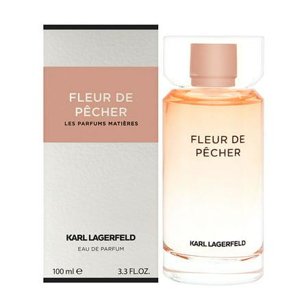 Parfums Karl Lagerfeld (Karl Lagerfeld Fleur De Pecher By Karl Lagerfeld Eau De Parfum Spray 3.3)