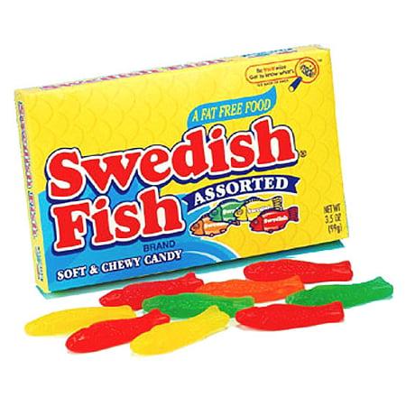 Swedish Fish Assorted Theater Box: 12 Count