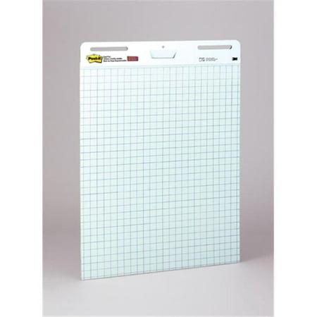 3m company mmm560 post it self stick easel pads 2 pk blue 1in grid