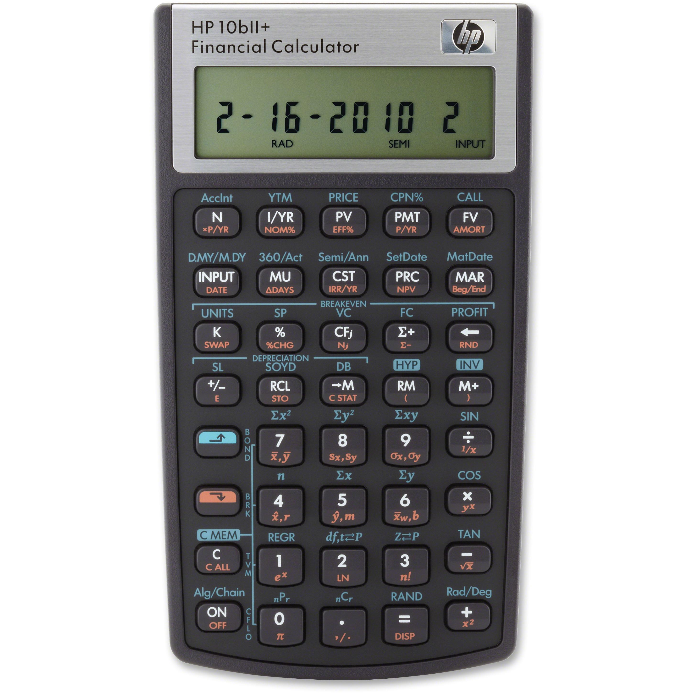 Hp Biiplus Financial Calculator  Each Quantity  WalmartCom