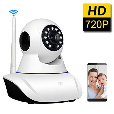 SDETER Baby Monitor 720P Wifi Wireless Security System with Two Way Audio IP