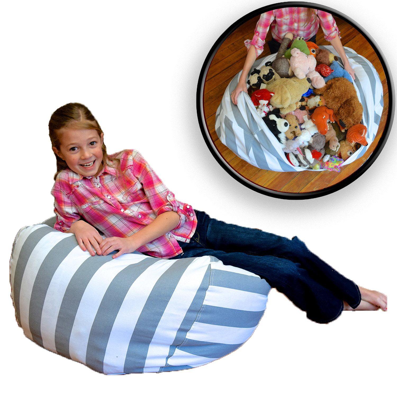 EXTRA LARGE Stuffed Animal Storage Bean Bag Chair Premium